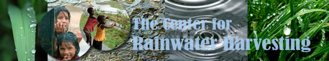 Center for Rainwater Harvesting